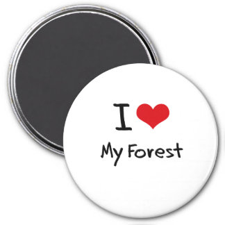 I Love My Forest Magnets