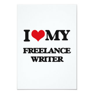 I love my Freelance Writer Announcements