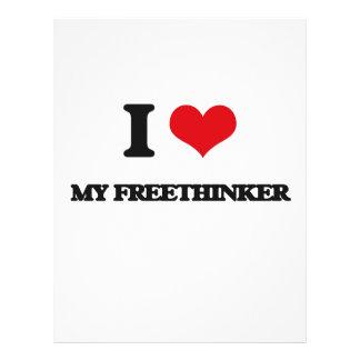 I Love My Freethinker Full Color Flyer