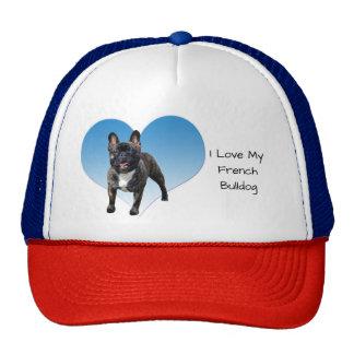I Love My French Bulldog Cap