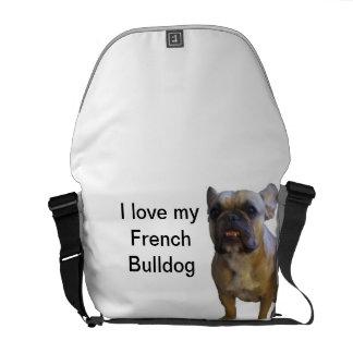 I love my french bulldog commuter bag