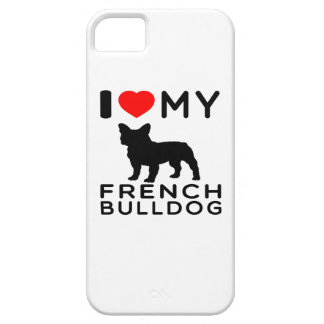 I Love My French Bulldog. iPhone 5 Covers