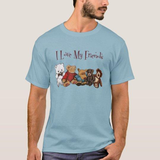 I Love My Friends: Teddy Bears, Animals, Toys