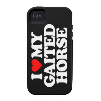 I LOVE MY GAITED HORSE iPhone 4 COVER
