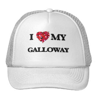 I Love MY Galloway Cap