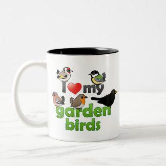 I Love My Garden Birds Coffee Mugs