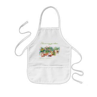 I love my garden kids apron