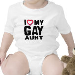 I LOVE MY GAY AUNT -.png T Shirts