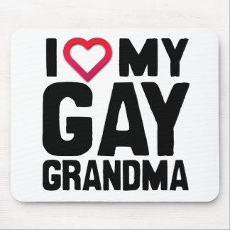 I LOVE MY GAY GRANDMA -.png Mousepad
