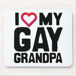 I LOVE MY GAY GRANDPA -.png Mouse Pad