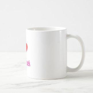 I love my Geek Basic White Mug