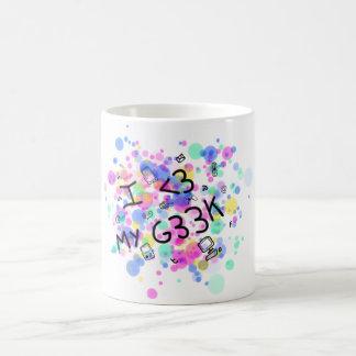 I love my geek cup coffee mugs