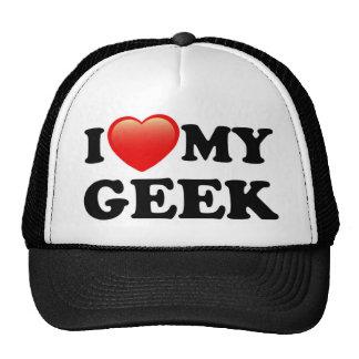 I LOVE MY GEEK MESH HAT