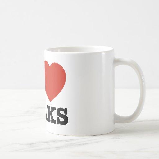 I love my geeks coffee mug