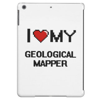 I love my Geological Mapper iPad Air Cover