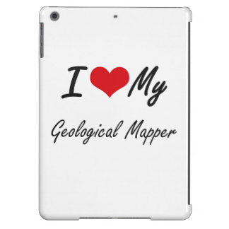 I love my Geological Mapper iPad Air Covers