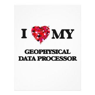 I love my Geophysical Data Processor 21.5 Cm X 28 Cm Flyer