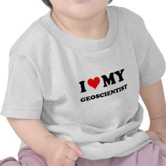 I Love My Geoscientist T Shirt