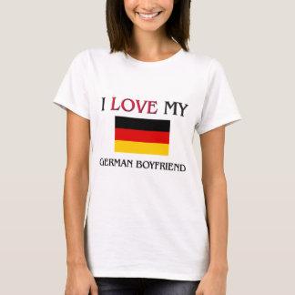 I Love My German Boyfriend T-Shirt