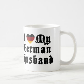 I Love My German Husband Gift Coffee Mug