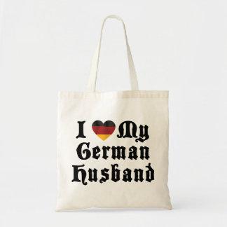 I Love My German Husband Gift Tote Bag