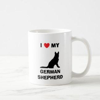 """I Love My German Shepherd"" Mug"