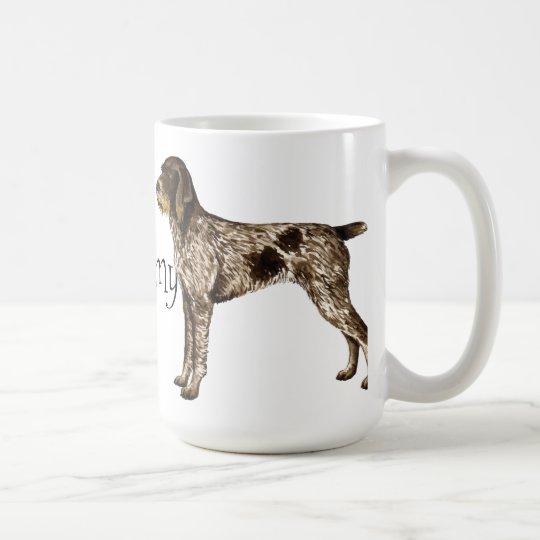 I Love my German Wirehaired Pointer Coffee Mug