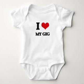 I Love My Gig Tshirts