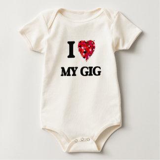 I Love My Gig Baby Bodysuit