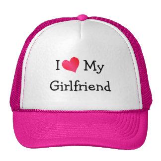 I Love My Girlfriend Hat