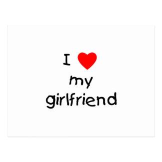 I Love My Girlfriend Postcards