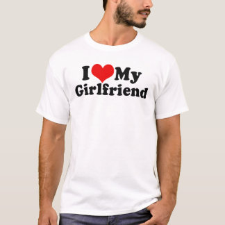 I Love My Girlfriend Valentine's Day T-Shirt