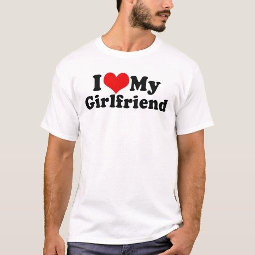 I Love My Girlfriend Valentine's Day T-shirt