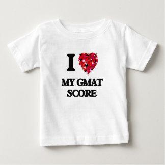 I Love My Gmat Score Tshirt