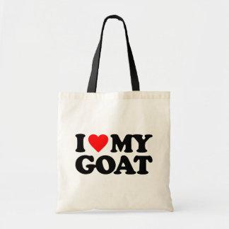 I LOVE MY GOAT TOTE BAG