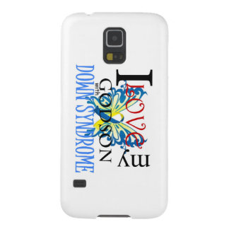 I Love My Godson with Down Syndrome Galaxy S5 Cover