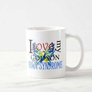 I Love My Godson with Down Syndrome Coffee Mug