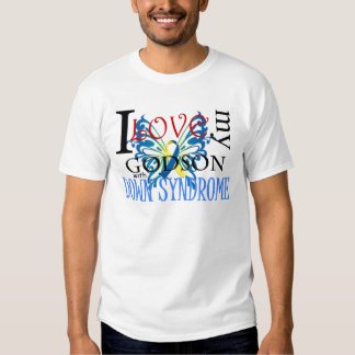 I Love My Godson with Down Syndrome Tees