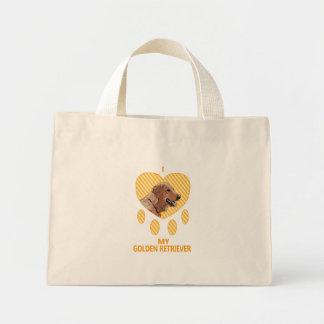 I Love My Golden Retriever Bag