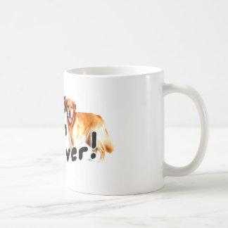 I love my Golden Retriever! Coffee Mug
