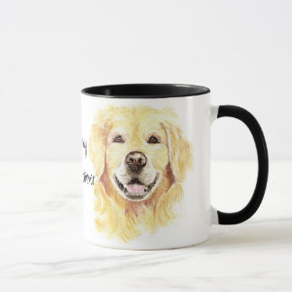 I Love my Golden Retriever, Dog, Pet Mug