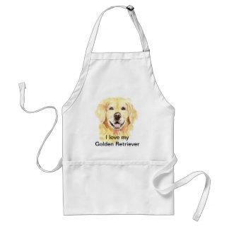 I Love my Golden Retriever, Dog, Pet Standard Apron