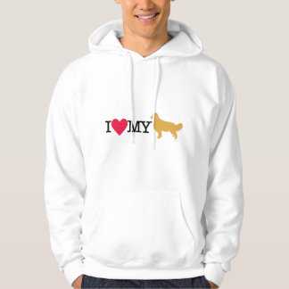 I Love My Golden Retriever ! Hoodie