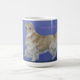 I love my Golden Retriever! Mug