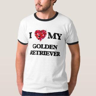 I love my Golden Retriever Tee Shirts