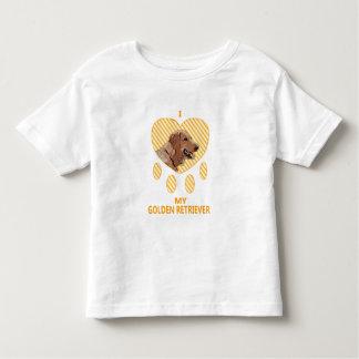 I Love My Golden Retriever Tshirts