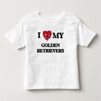 I love my Golden Retrievers Tshirts