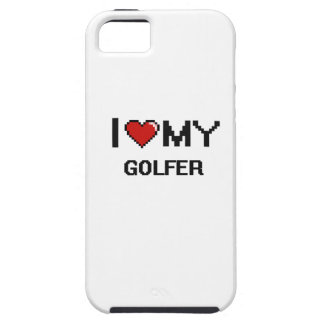 I love my Golfer iPhone 5 Cover