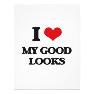 I Love My Good Looks Flyer