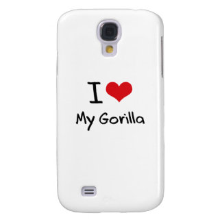 I Love My Gorilla Samsung Galaxy S4 Cases